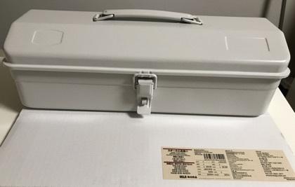 【商品情報】 シンプルでオシャレな白い工具箱。。無印良品様にて販売しています。 #無印 #工具箱 #東洋スチール  pic.twitter.com/CRVenL3NU6