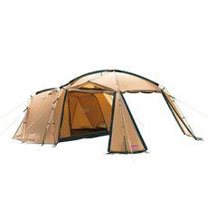 無駄がないテント・マットのセット:コールマン タフスクリーン2ルームハウス