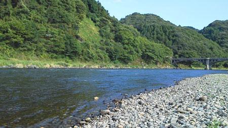 鮎釣り in 那珂川 2011・7・4:Hop-Step-Camp