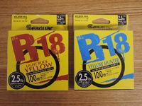 シーガー R18ライトロックとR18イエローハンター
