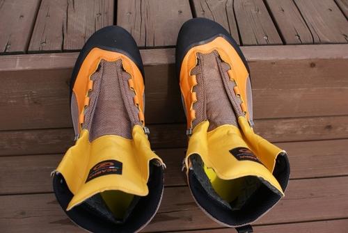 登山靴メンテナンス 【SCARPA ...