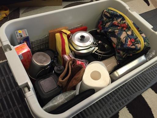 大量に買い揃えてしまったキャンプ用品は、これだけではおさまらず衣類の部屋となっているこちらにも。 無印良品のポリプロピレン頑丈収納ボックス2 ...