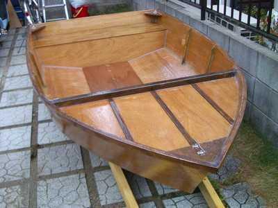 ちっちゃなボートで