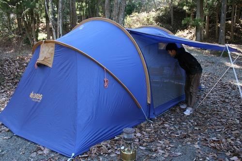 キャンプへ行きたい