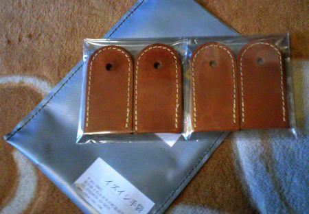 CACA,ZAN(出石手袋)製の ちびパン専用ハンドルカバー