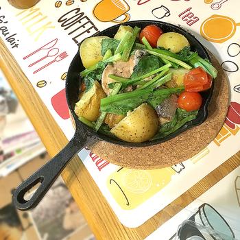 クックパッドで『ニトスキ』で検索するといーっぱいレシピが出てきます!私のように料理の心得が無いおじさんでも材料を用意してこれくらいはできます。