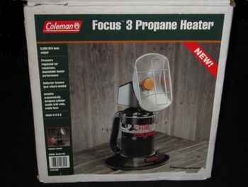 Propane Radiant Heater >> Simple Man シンプルマン:Coleman Radiant Propane Heater 「FOCUS 5」