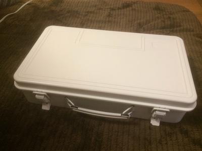スチール工具箱3 約幅38×奥行23×高さ10cm