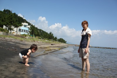 2013 観瀾山公園海水浴場キャンプ場