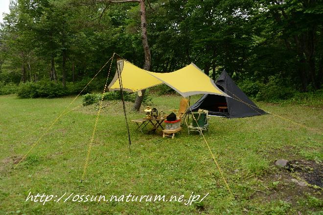 おッSUN!キャンプ:七戸町森林公園