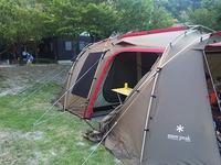 キャンプ復活! in 青川峽