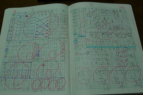 自学のノートに使うらしいです ... : 小学校 テスト : 小学校