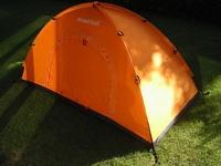 安価なソロ用テント