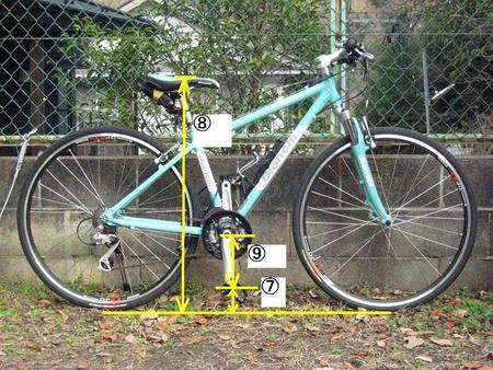 自転車の 自転車 寸法 高さ : 3姉妹(+1♀)パパの極楽 ...