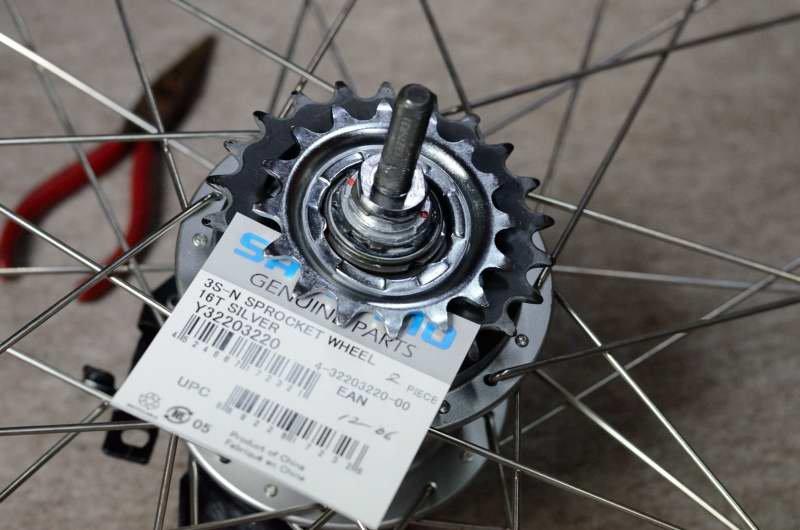 ... :電動アシスト自転車いじり