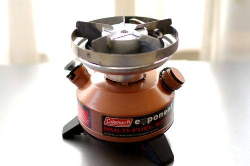 coleman exponent multi fuel stove manual