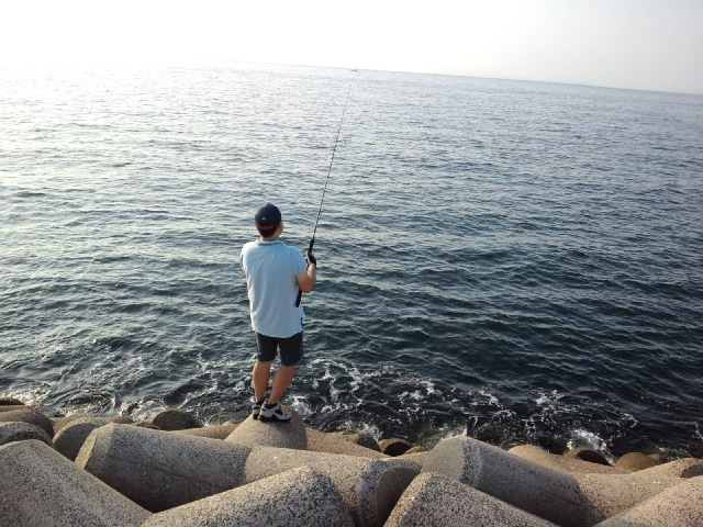 おかっぱり釣行記