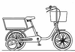 ... 日記 :自転車の3人乗り